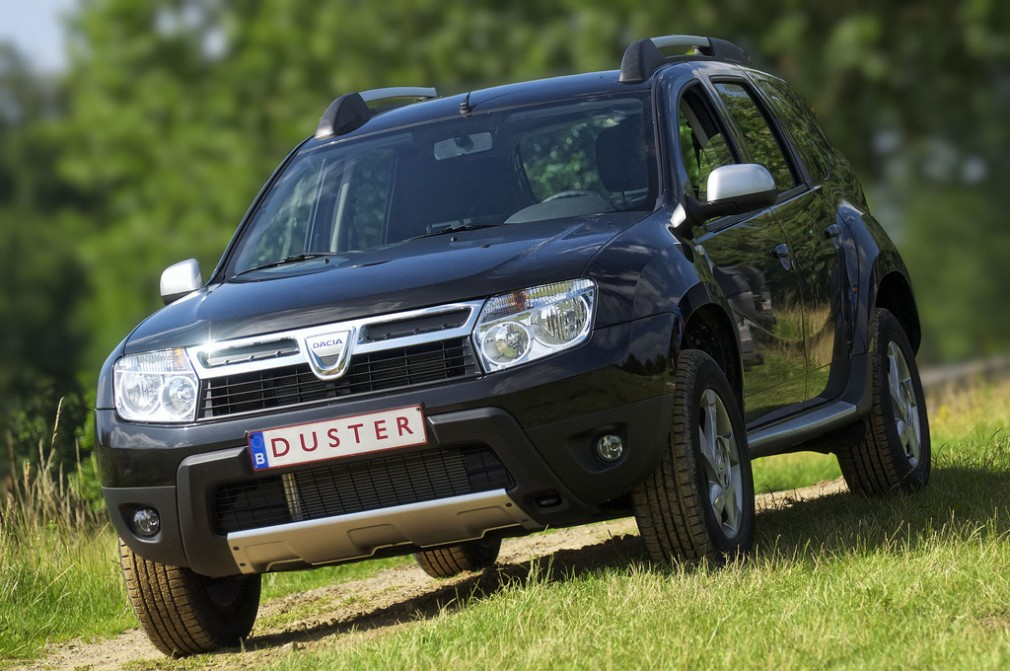 Dacia Duster, made in Iran