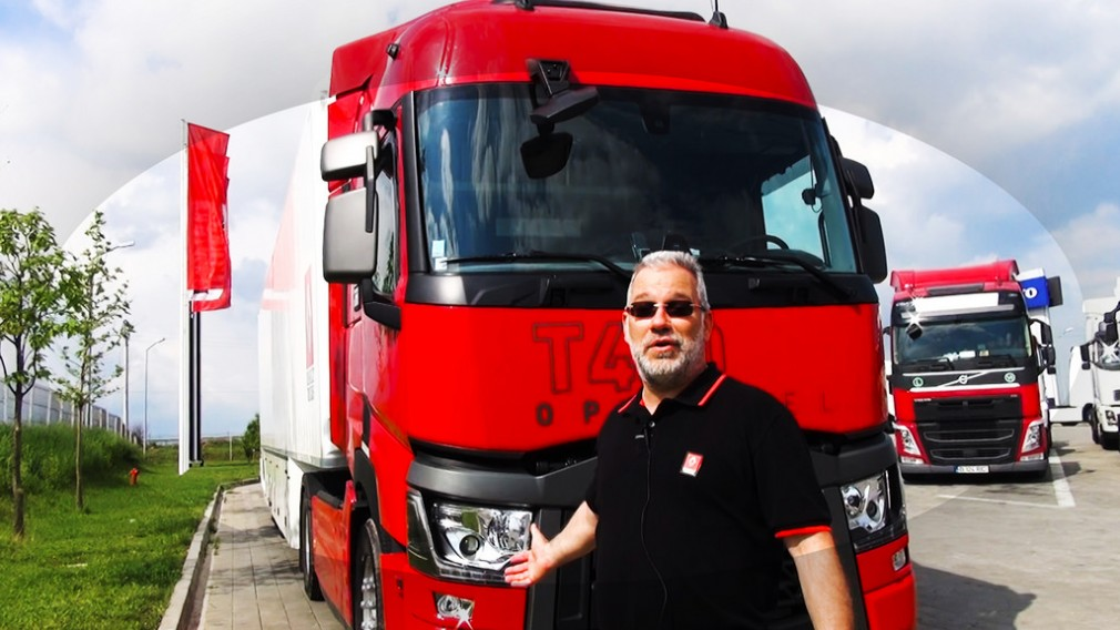 VIDEO EXCLUSIV: TEST DRIVE- RENAULT TRUCKS T 440