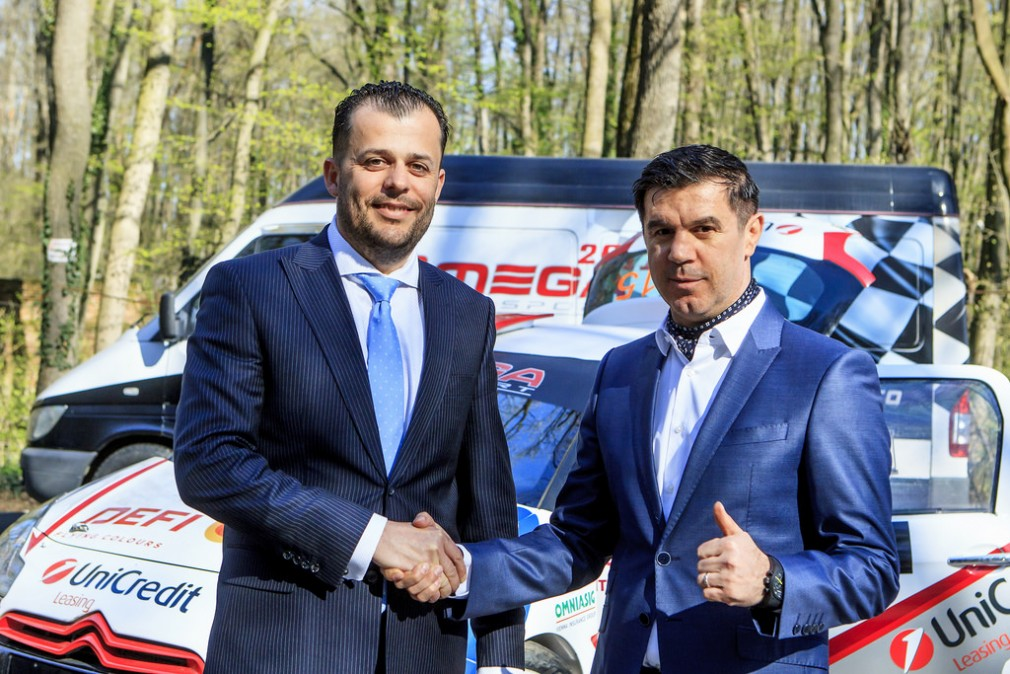 UniCredit Leasing Rally Team își face debutul internațional