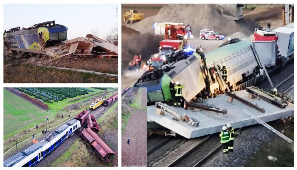 Video: ACCIDENT GRAV DE TREN RO-LA ÎN GERMANIA